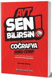 Benim Hocam Yayınları AYT Coğrafya Sen Bilirsin Soru-Cevap Kitabı