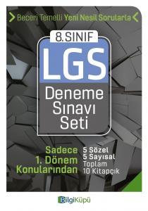 Bilgi Küpü Yayınları 8. Sınıf LGS 1. Dönem Deneme Sınavı Seti