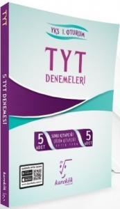 Karekök Yayınları TYT 5 li Çözümlü Deneme Seti