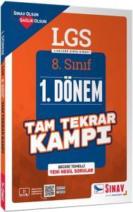 Sınav Yayınları 8. Sınıf LGS 1. Dönem Çözümlü Tam Tekrar Kampı