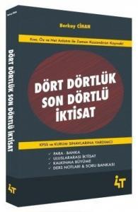 4T Yayınları KPSS A Grubu Dört Dörtlük Son Dörtlü İktisat
