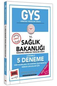 Yargı Yayınları 2020 GYS T.C. Sağlık Bakanlığı Veri Hazırlama ve Kontrol İşletmeni ile Memur Unvanları İçin Çözümlü 5 Deneme