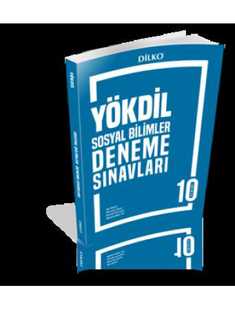 Dilko Yayıncılık YÖKDİL Sosyal Bilimler 10 Deneme Sınavı %30 indirimli