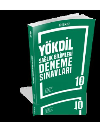 Dilko Yayıncılık YÖKDİL Sağlık Bilimleri 10 Deneme Sınavı %30 indiriml