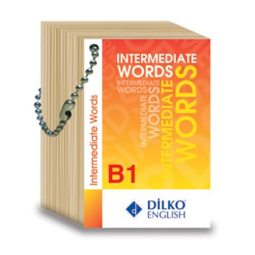 Dilko Yayınları İntermediate Words B1 Kelime Kartı Komisyon