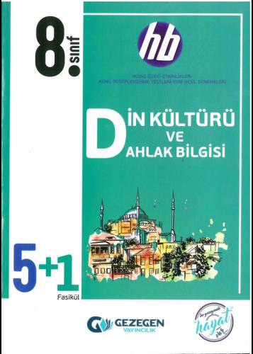 Gezegen Yayınları 8. Sınıf Din Kültürü ve Ahlak Bilgisi 5+1 Fasikül