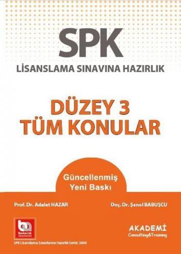 Akademi Eğitim SPF Düzey 3 Tüm Konular