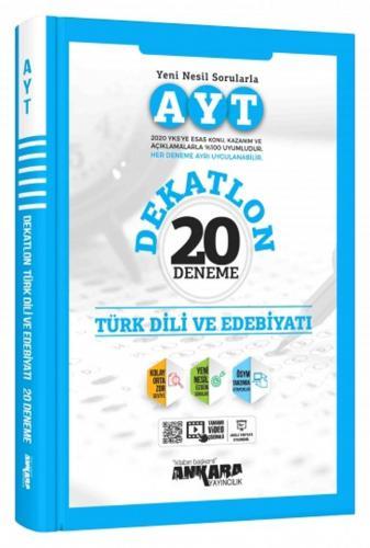 Ankara Yayıncılık AYT Türk Dili ve Edebiyatı Dekatlon 20 Deneme Komisy