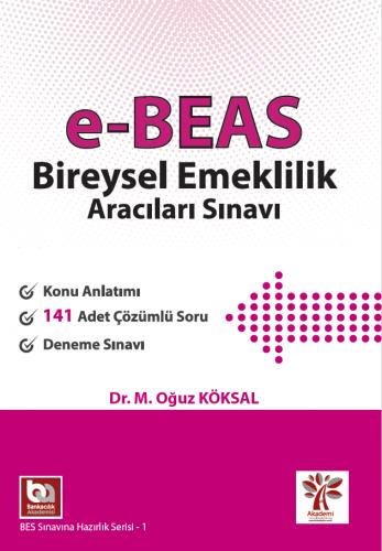 e-BEAS Bireysel Emeklilik Aracıları Sınavı Hazırlık Kitabı Mehmet Oğuz