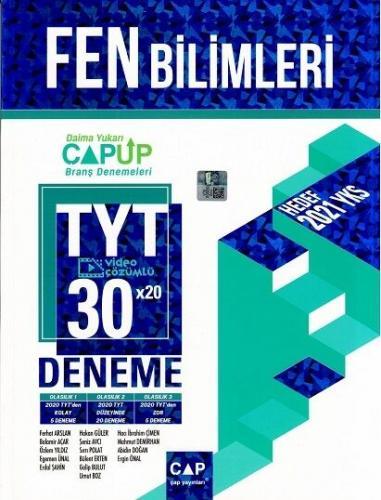 Çap Yayınları TYT Fen Bilimleri Up 30 x 20 Branş Denemeleri Hakan Güle