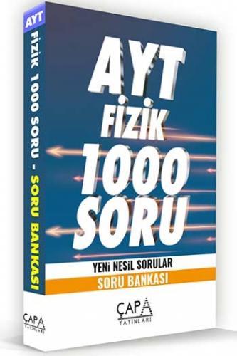 Çapa Yayınları AYT Fizik Soru Bankası Komisyon