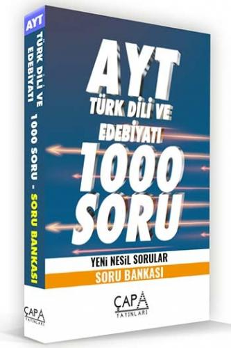 Çapa Yayınları AYT Türk Dili ve Edebiyatı Soru Bankası Komisyon