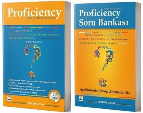 Proficiency Hazırlık Atlama Sınavı Konu + Soru Bankası 2 li Set Ekrem