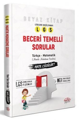 Editör Yayınları 8. Sınıf LGS Beceri Temelli Sorular Nasıl Çözülür Bey