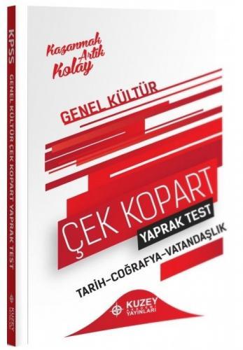 Kuzey Akademi 2021 KPSS Genel Kültür Yaprak Test Çek Kopart Komisyon