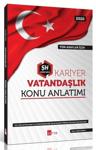 Akfon Yayınları 2020 KPSS Kariyer Vatandaşlık Konu Anlatımlı Şükrü Bit