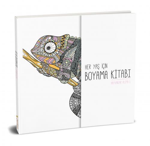 Her Yaş için Çek Kopart Boyama Kitabı - Hayvanlar Alemi 1