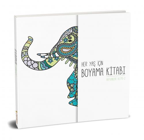 Her Yaş için Çek Kopart Boyama Kitabı - Hayvanlar Alemi 2 Komisyon