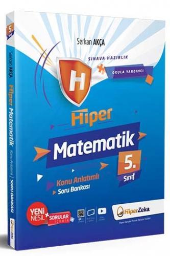 Hiper Zeka 5. Sınıf Hiper Matematik Konu Anlatımlı Soru Bankası Komis