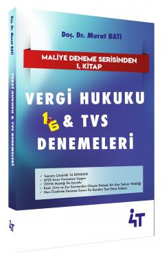 4T Yayınları Vergi Hukuku ve TVS Türk Vergi Sistemi Denemeleri Murat B