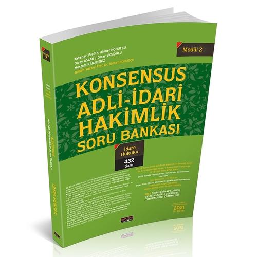 Savaş Yayınları KONSENSUS Adli İdari Hakimlik İdare Hukuku Soru Bankas