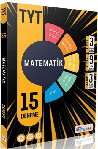 KöşeBilgi Yayınları TYT Matematik 15 Deneme Komisyon