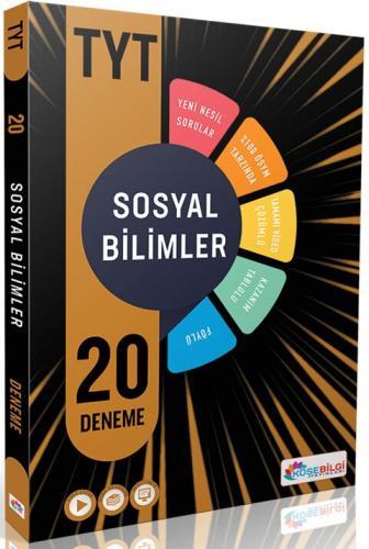 KöşeBilgi Yayınları TYT Sosyal Bilimler 20 Deneme Komisyon