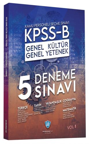 Sorubankası.net 2020 KPSS B Genel Yetenek Genel Kültür 5 Deneme Çözüml