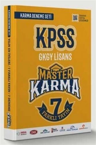 Master Karma KPSS Genel Yetenek Genel Kültür Deneme 7 Farklı Yayın Den