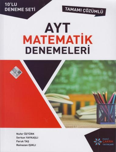 Mavi Çakra AYT Matematik 10 lu Denemeleri Komisyon