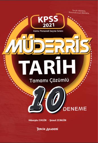 Tercih Akademi 2021 KPSS Müderris Tarih Tamamı Çözümlü 10 Deneme Hüse