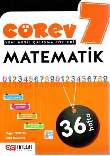 Nitelik Yayınları 7. Sınıf Matematik Görev Yeni Nesil Çalışma Föyleri