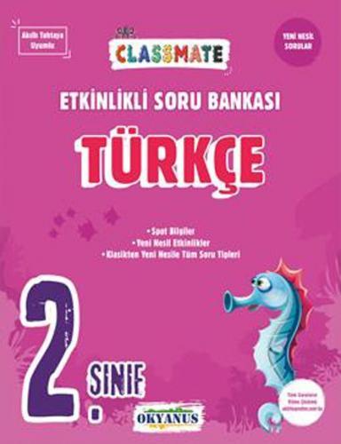 Okyanus Yayınları 2. Sınıf Türkçe Etkinlikli Soru Bankası Komisyon