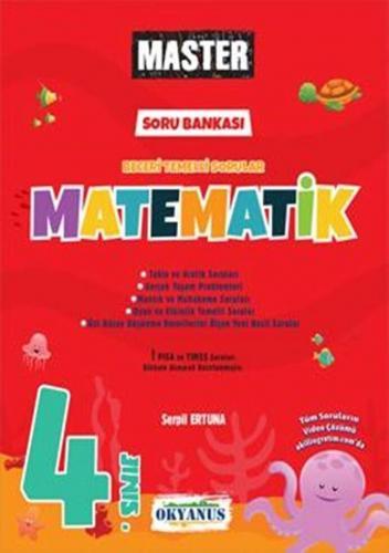 Okyanus Yayınları 4. Sınıf Matematik Master Soru Bankası Komisyon