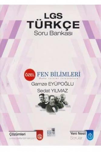 Özel Fen Bilimleri LGS Türkçe Soru Bankası Komisyon
