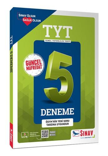 Sınav Yayınları TYT Çözümlü 5 Deneme