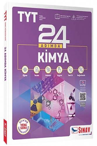 Sınav Yayınları TYT Kimya 24 Adımda Konu Anlatımlı Soru Bankası Komis