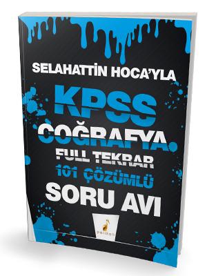 Pelikan Yayınları Selahattin Hocayla KPSS Coğrafya Soru Avı 101 Çözüml