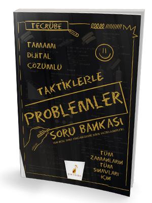 Tecrübe Taktiklerle Problemler Tamamı Dijital Çözümlü Soru Bankası Kom