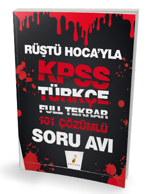 Rüştü Hoca'yla KPSS Türkçe Soru Avı 101 Çözümlü Soru Rüştü Bayındır