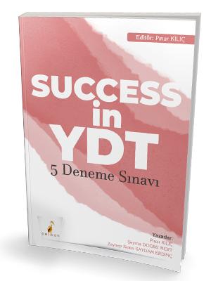 Success in YDT İngilizce Çek Kopart 5 Deneme Sınavı Pınar Kılıç
