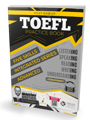 Pelikan Yayınları TOEFL Practice Book - Advanced Fuat Başkan