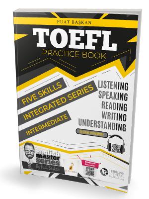 Pelikan Yayınları TOEFL Practice Book - Intermediate Fuat Başkan