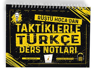 Tüm Sınavlar için Rüştü Hoca'dan Taktiklerle Türkçe Ders Notları Rüştü
