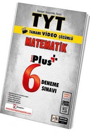 Mutlak Değer Yayınları TYT Matematik Video Çözümlü 6 Plus Deneme Özgen