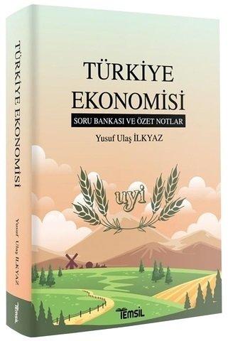 Türkiye Ekonomisi soru Bankası ve Özet Notlar Yusuf Ulaş İlkyaz