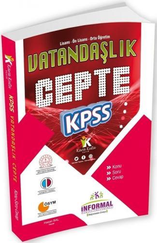 İnformal Yayınları 2020 KPSS Cepte Vatandaşlık Konu Anlatımlı Komisyon