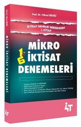 4T Yayınları KPSS A Grubu Mikro İktisat Denemeleri Çözümlü Yüksel Bilg