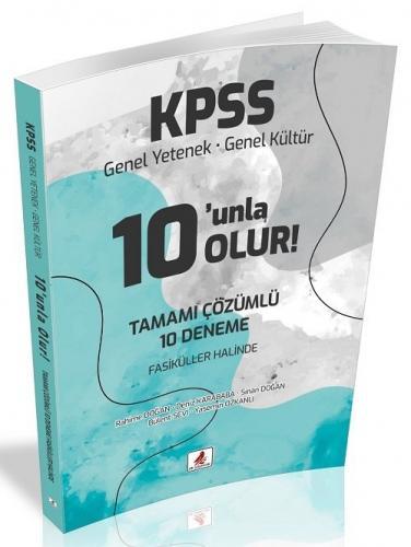 DB Yayıncılık 2021 KPSS Genel Yetenek Genel Kültür 10 unla Olur 10 Den