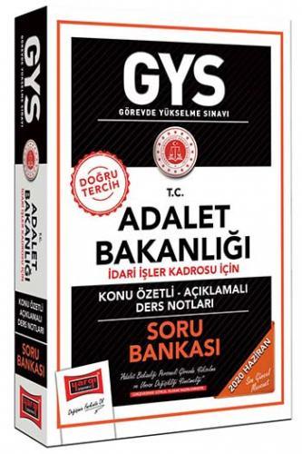Yargı Yayınları GYS T.C. Adalet Bakanlığı İdari İşler Kadrosu İçin Kon
